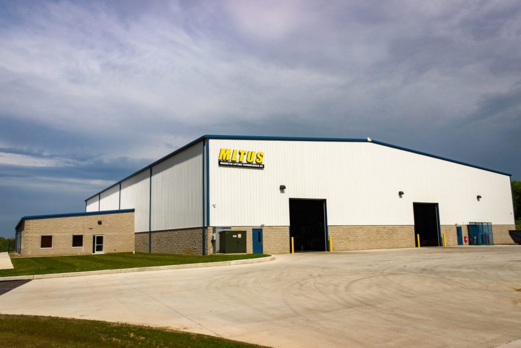 Magnetic Lifting Technologies new headquarters in New Castle, PA