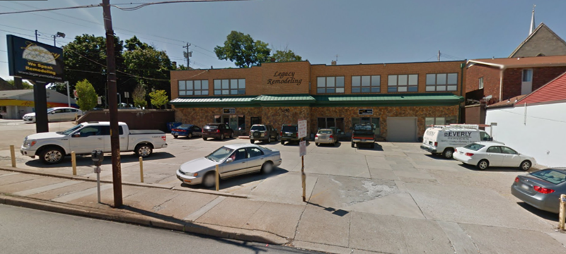 Location of the original Pennell Engineering Associates in Dormont, PA