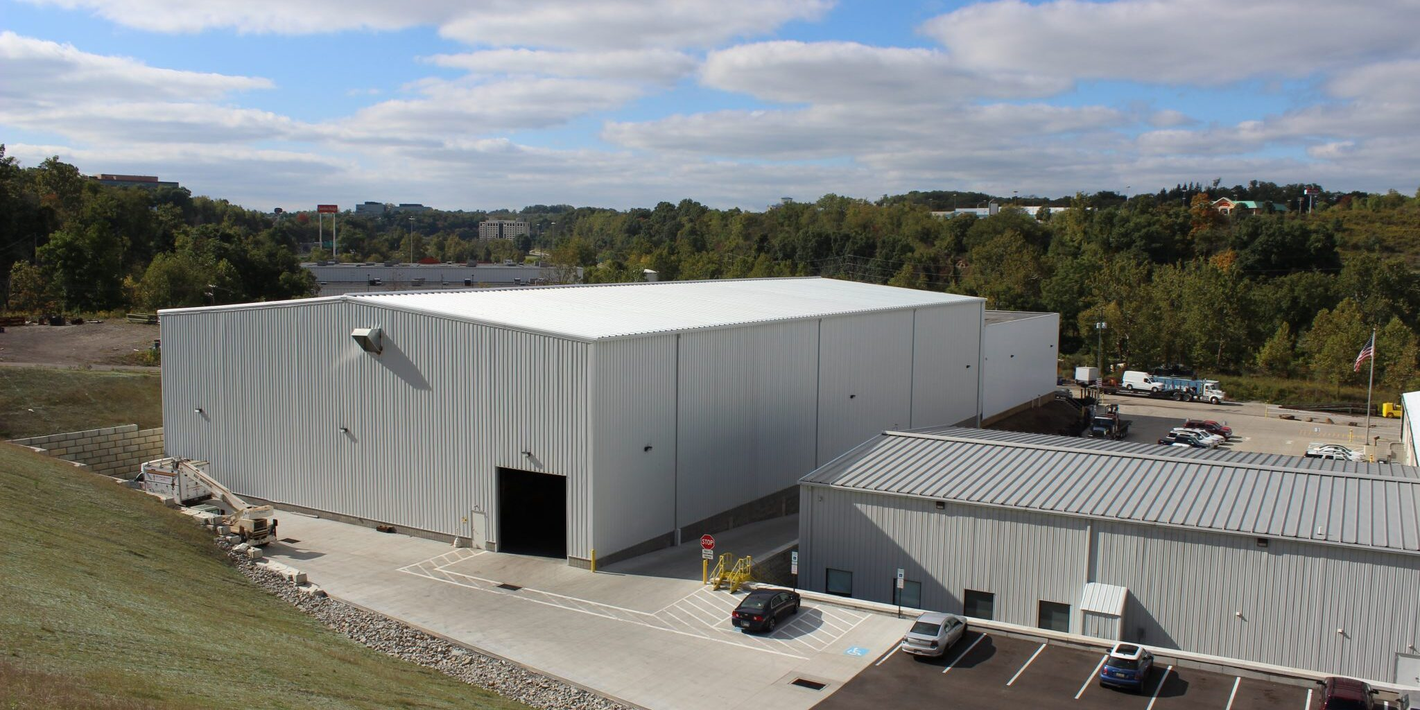 D&S Hoist and Crane HQ adjacent to H&K Equipment in Coraopolis, PA